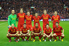 121004 Liverpool v Udinese Calcio