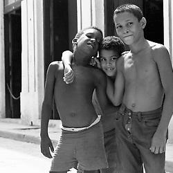 Cuban kids in Havana, Cuba. 1998