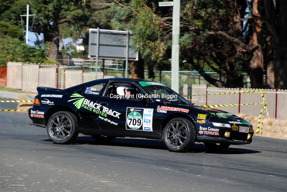 Prologue.George Town.Targa Tasmania 2009.28th of April 2009.(C) Sarah Biggin.