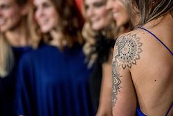 21-12-2016 NED: Sportgala NOC * NSF 2016, Amsterdam<br /> In de Amsterdamse RAI vindt het traditionele NOC NSF Sportgala weer plaats / Tattoo Michelle Goos