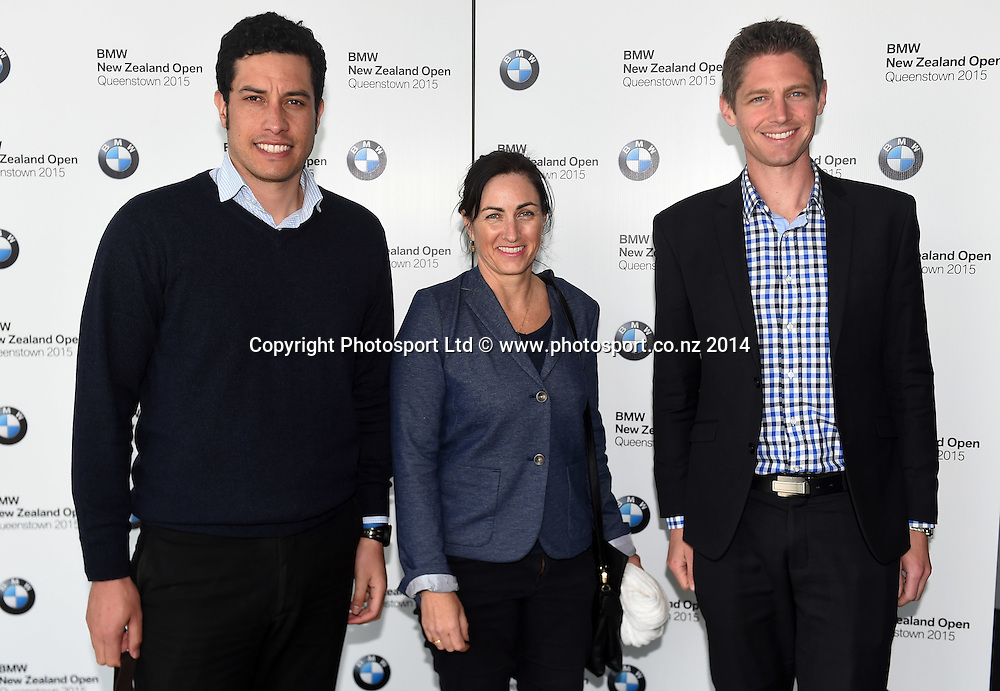 Guests arrive for the BMW NZ Golf Open 2015 Announcement, The Cloud, Auckland on Tuesday 7 October 2014. Photo: Andrew Cornaga / Photosport.co.nz