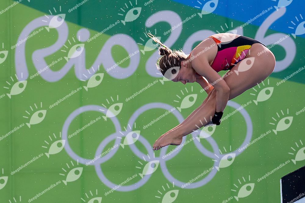 BATKI Noemi ITA <br /> 10m platform women <br /> Rio de Janeiro  XXXI Olympic Games <br /> Maria Lenk Aquatics Centre<br /> Diving preliminary 17/08/2016<br /> Photo Giorgio Scala/Deepbluemedia/Insidefoto