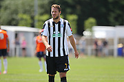 Peacehaven Tom Lawley during the Pre-Season Friendly match between Peacehaven & Telscombe and Luton Town at the Peacehaven Football Club, Peacehaven, United Kingdom on 18 July 2015. Photo by Phil Duncan.