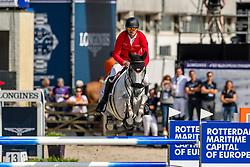 Eder Stefan, AUT, Dr Scarpo<br /> European Championship Jumping<br /> Rotterdam 2019<br /> © Dirk Caremans<br /> Eder Stefan, AUT, Dr Scarpo
