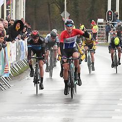 29-02-2020: Wielrennen: Ster van Zwolle: Zwolle<br />David Dekker wint de 60e Ster van Zwolle