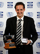 Club Referee of the year Ben Skeen, Auckland rugby union awards dinner, Eden Park, Auckland. 28 October 2009. Photo: William Booth/PHOTOSPORT