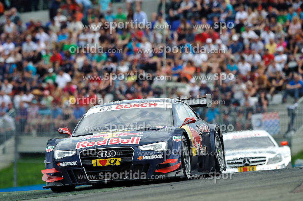 03.06.2012, Red Bull Ring, Spielberg, AUT, DTM Red Bull Ring, Renntag, im Bild Mattias Ekstroem, (SWE, ABT Sportsline), Jamie Green, (GBR, HWA) // during the DTM training day on the Red Bull Circuit in Spielberg, 2012/06/03, EXPA Pictures © 2012, PhotoCredit: EXPA/ S. Zangrando