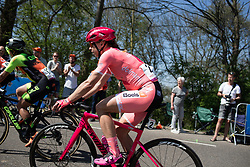 Annika Langvad (DEN) of Boels-Dolmans Cycling Team rides near the front during the Amstel Gold Race - Ladies Edition - a 126.8 km road race, between Maastricht and Valkenburg on April 21, 2019, in Limburg, Netherlands. (Photo by Balint Hamvas/Velofocus.com)