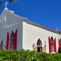 St. Mary's Pro-Cathedral in Cockburn Town, Grand Turk, Turks and Caicos Islands<br />