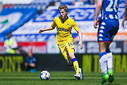Leeds United midfielder Eunan O'Kane (14) in action  during the EFL Sky Bet Championship match between Wigan Athletic and Leeds United at the DW Stadium, Wigan, England on 7 May 2017. Photo by Simon Davies.