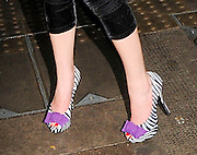 02.DECEMBER.2011. LONDON<br /> <br /> SINGER JOSS STONE WITH PARTIES WITH FRIENDS AND A MAN IN A TIGER SUIT AT AURA NIGHT CLUB IN MAYFAIR, LONDON, BEFORE LEAVING ON A TAXI BIKE AT 3AM. <br /> <br /> BYLINE: EDBIMAGEARCHIVE.COM<br /> <br /> *THIS IMAGE IS STRICTLY FOR UK NEWSPAPERS AND MAGAZINES ONLY*<br /> *FOR WORLD WIDE SALES AND WEB USE PLEASE CONTACT EDBIMAGEARCHIVE - 0208 954 5968*