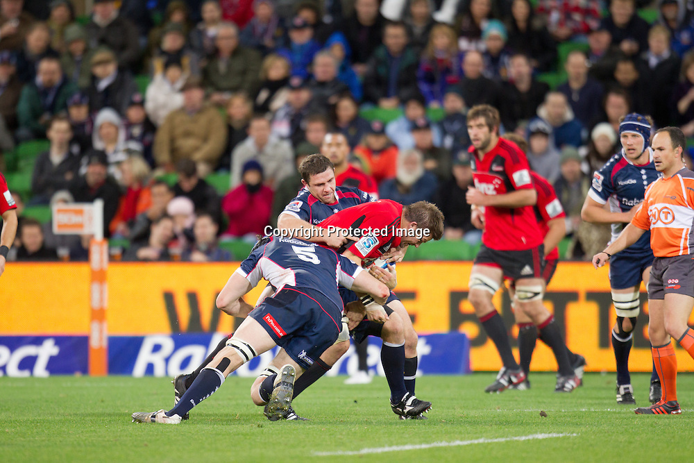 Super Rugby, Rebels v Crusaders, Melbourne 12 May 2012.<br /> Photo: Photosport.co.nz