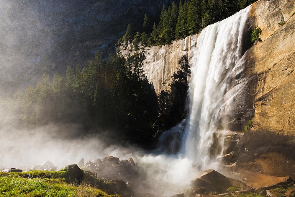 Vernal Fall, Yosemite National Park, California USA