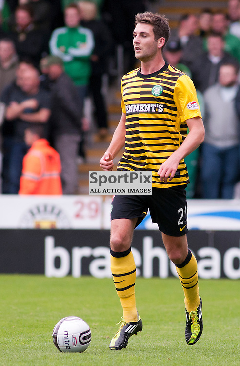 Celtic's Charlie Mulgrew ,St Mirren v Celtic, Scottish Premier League