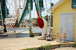 Fishing Boats and Shack,Southport, North Carolina