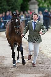 Griffiths Sam, (AUS), Happy Times<br /> First Horse Inspection - Mitsubishi Motors Badminton Horse Trials <br /> Badminton 2015