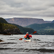 Sea Kayaking in Gros Morne National Park, Newfoundland Canada - with Gros Morne Adventures