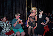 SCOTTY; SAMI; AMANDA LEPORE; KELLY OSBORNE. The Premiere of DD perfume by Agent Provocateur with a DD Fashion Show. Dolce. Air St. London. 25 September 2008 *** Local Caption *** -DO NOT ARCHIVE-© Copyright Photograph by Dafydd Jones. 248 Clapham Rd. London SW9 0PZ. Tel 0207 820 0771. www.dafjones.com.