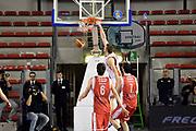 DESCRIZIONE : Roma Lega A 2014-2015 Acea Roma Grissinbon Reggio Emilia<br /> GIOCATORE : Maxime De Zeeuw<br /> CATEGORIA : controcampo schiacciata<br /> SQUADRA : Acea Roma<br /> EVENTO : Campionato Lega A 2014-2015<br /> GARA : Acea Roma Grissinbon Reggio Emilia<br /> DATA : 16/03/2015<br /> SPORT : Pallacanestro<br /> AUTORE : Agenzia Ciamillo-Castoria/GiulioCiamillo<br /> GALLERIA : Lega Basket A 2014-2015<br /> FOTONOTIZIA : Roma Lega A 2014-2015 Acea Roma Grissinbon Reggio Emilia<br /> PREDEFINITA :