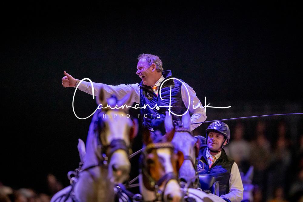 Chardon IJsbrand, NED, Casper, Kendi, Maestoso XIV-7, Feles<br /> JIM Maastricht 2019<br /> FEI Driving World Cup™ 2019/20 <br /> © Dirk Caremans<br />  09/11/2019