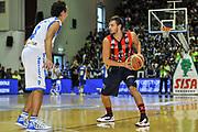 Tommaso Raspino<br /> Banco di Sardegna Dinamo Sassari - Angelico Biella<br /> Legabasket Serie A Beko 2012-2013<br /> Sassari, 30/09/2012<br /> Foto L.Canu / Ciamillo-Castoria