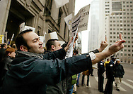 Gay and lesbian activists fight for the right to marry in the state of Illinois through a series of protests in front of and inside government buildings in the city of Chicago.  A few activists also attempt to obtain their marriage licenses inside the county clerk's office.