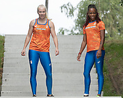 2019, September 10. Sports Centre Papendal, Arnhem, the Netherlands. Marije van Hunenstijn and Jamile Samuel.