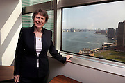 Helen Clark, Administrator of the United Nations Development Programme in her office overlooking the East River and Manhattan at the UNDP in New York, NY on June 13, 2014. (Photo by Melanie Burford/Prime)