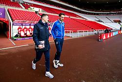 Ollie Clarke and Alex Rodman of Bristol Rovers arrive at The Stadium of Light - Mandatory by-line: Robbie Stephenson/JMP - 15/12/2018 - FOOTBALL - Stadium of Light - Sunderland, England - Sunderland v Bristol Rovers - Sky Bet League One