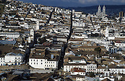 Old town of Quito, Ecuador's capital