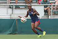 19 August 2014: Crystal Dunn. The United States Women's National Team held a public training session at WakeMed Stadium in Cary, North Carolina.
