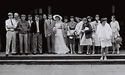 Wedding shot, London, UK, 1983