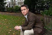 Douglas Murray, écrivain et journaliste, auteur notamment de 'L'étrange suicide de l'Europe' / Douglas Murray, British writer and journalist, author, among other books, of The Madness of Crowds.