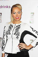 Aisleyne Horgan-Wallace, Aspire Drinks - Press Launch, Sanctum Soho Hotel - Roof Garden, London UK, 12 December 2013, Photo by Brett D. Cove