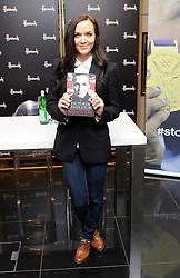 ]Victoria Pendleton sign copies of her new book Between the Lines  at Harrods in London, Wednesday, 26th September 2012. Photo by: i-Images
