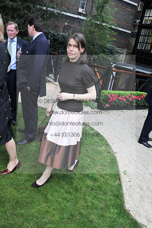 LADY SARAH CHATTO at a reception hosted by the Friends of the Castle of Mey held at the Goring Hotel, Beeston Place, London on 22nd May 2012.