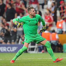 Goalkeeper Adrian of Liverpool  during the UEFA SUPERCUP match between Liverpool and Chelsea at Vodafone Park in Istanbul , Turkey on August 14 , 2019. <br /> Photo : Seskimphoto / Icon Sport