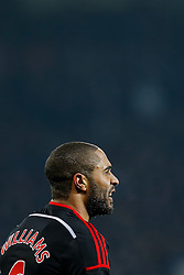 Ashley Williams of Swansea City looks on - Photo mandatory by-line: Rogan Thomson/JMP - 07966 386802 - 11/02/2015 - SPORT - FOOTBALL - West Bromwich, England - The Hawthorns - West Bromwich Albion v Swansea City - Barclays Premier League.