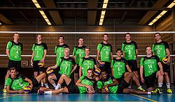 11-10-2017 NED: Selectie SSS 2017-2018, Barneveld<br /> De spelers van eredivisie club SSS voor het seizoen 2017-2018 / Teamfoto