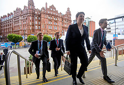 © Licensed to London News Pictures. 02/10/2017. Manchester, UK. Scottish conservative leader RUTH DAVIDSON seen on the second day of the Conservative Party Conference. The four day event is expected to focus heavily on Brexit, with the British prime minister hoping to dampen rumours of a leadership challenge. Photo credit: Ben Cawthra/LNP
