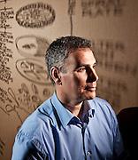 Portrait of Arthur Rubinfeld, President of Global Development at Starbucks Coffee