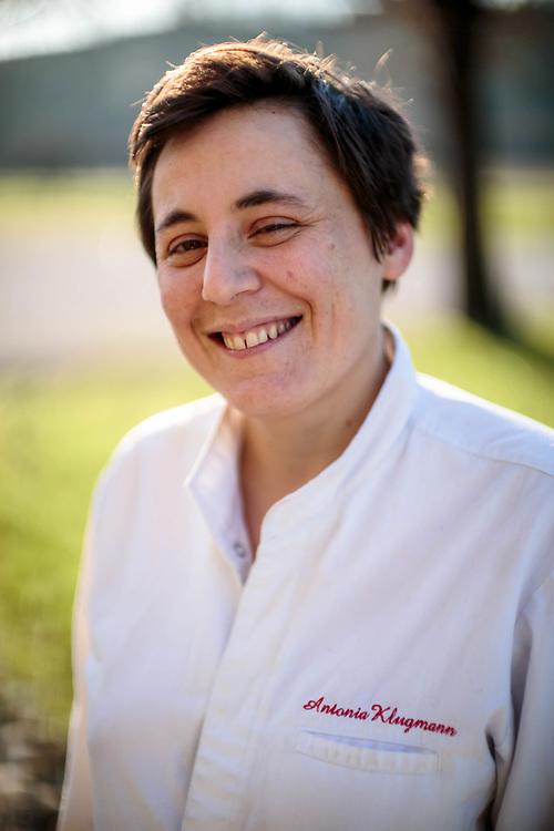 """05 DEC 2017 - Vencò, Dolegna del Collio (GO) -  Antonia Klugmann, chef del ristorante """"L'Argine a Vencò"""""""