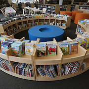 WASHINGTON, DC - SEP9: The children's reading area of the new Woodridge Public Library, the latest library to reopen in D.C. with an innovative design, September 9, 2016. (Photo by Evelyn Hockstein/For The Washington Post)