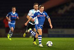 Jamie Allen of Rochdale attacks - Mandatory byline: Matt McNulty/JMP - 07966386802 - 29/09/2015 - FOOTBALL - Spotland Stadium -Rochdale,England - Rochdale v Shrewsbury - SkyBet League One