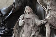 Tomb of Jean-Baptiste Joseph LANGUET de Gergy (detail), 1677-1753, by Rene Michel SLODTZ, 1705-64, Eglise Saint-Sulpice (St Sulpitius' Church), c.1646-1745, late Baroque church on the Left Bank, Paris, France. Jean-Baptiste Joseph LANGUET de Gergy was a French archbishop and theologian. Picture by Manuel Cohen
