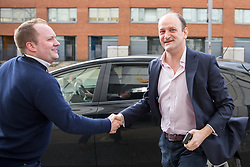 © Licensed to London News Pictures. 26/03/2017. London, UK. Former UKIP MP Douglas Carswell arrives at the ITV Studios to appear on 'Peston on Sunday' programme. Photo credit : Tom Nicholson/LNP