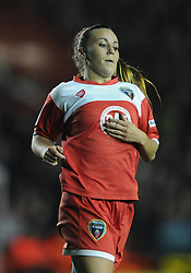 Bristol Academy Womens' Natasha Harding - Photo mandatory by-line: Dougie Allward/JMP - Mobile: 07966 386802 - 13/11/2014 - SPORT - Football - Bristol - Ashton Gate - Bristol Academy Womens FC v FC Barcelona - Women's Champions League