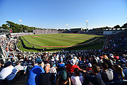 Sophia Gardens packed with fans in the evening sunshine during the International T20 match between England and India at the SWALEC Stadium, Cardiff, United Kingdom on 6 July 2018. Picture by Graham Hunt.