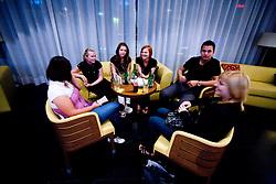 """Pogostitev po okrogli mizi na temo """"Kolajna - kljuc do blagovne znamke?"""" v organizaciji SportForum Slovenija, 24. september 2009, Austria Trend Hotel, Ljubljana, Slovenija. (Photo by Vid Ponikvar / Sportida)"""