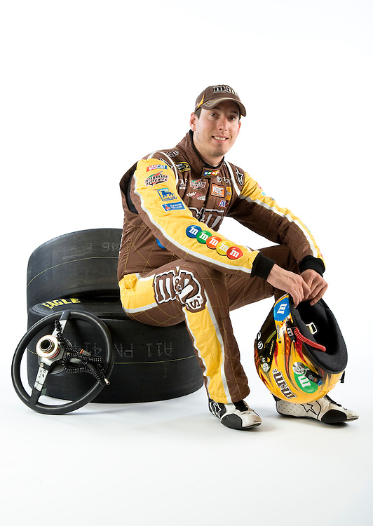 Portrait of NASCAR driver and champion Kyle Busch.